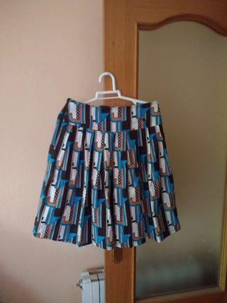 falda con forro tM