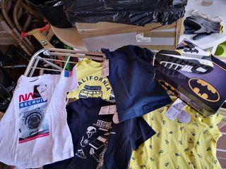 pack ropa verano niño T5