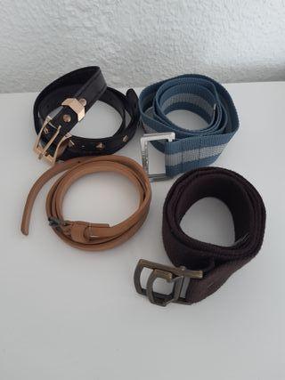 Pack de 4 Cinturones