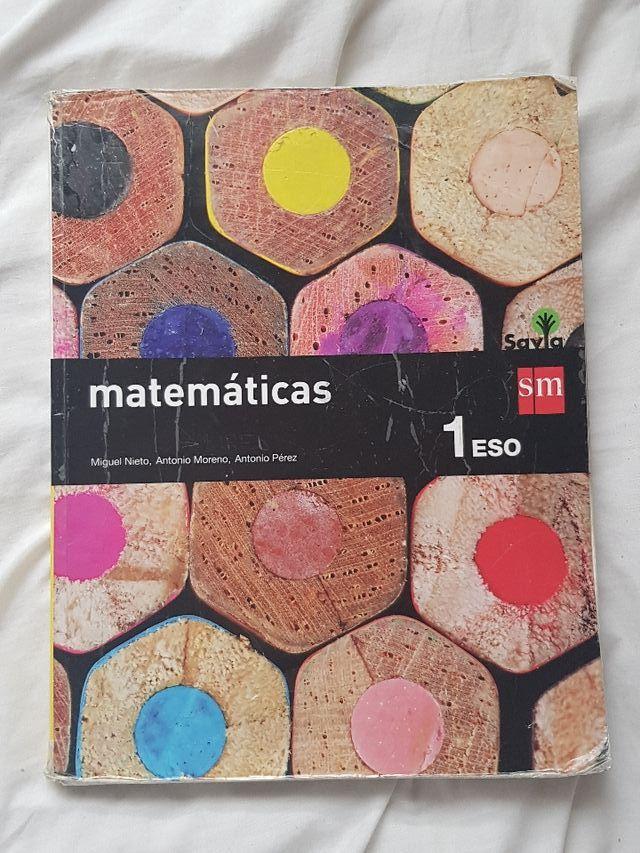 Libro matematicas SM 1 ESO