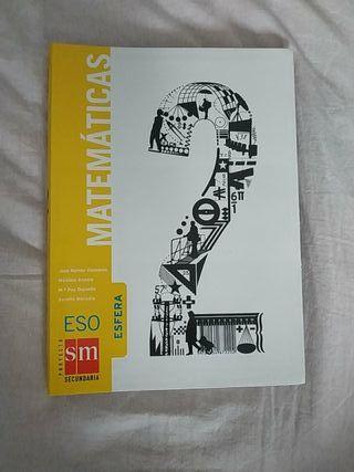 libro matemáticas 2o de la eso