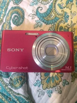 cámara fotos cyber shot 14,1 megapixel
