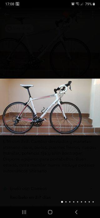 Bicicleta carretera TREK OneSeries 1.1. Talla 56.