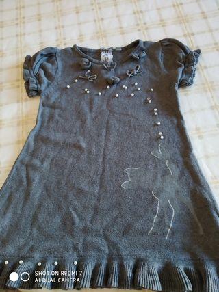 vestido de 2a3años