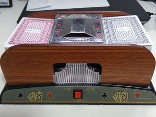 mezclador automático de cartas