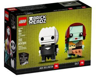 Lego 41630 Brickheadz Jack & Sally
