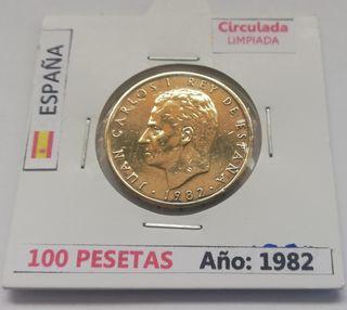 100 Pesetas (Año 1982)