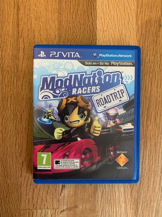PS Vita Mod Nation Racers
