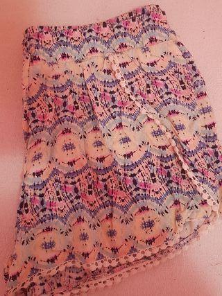 Pantalon corto de colores