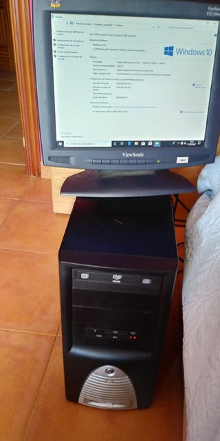 pc ordenador de mesa dual core 500gb