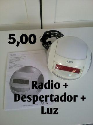 Radio - Reloj - Despertador - Luz