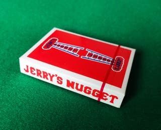 Baraja de cartas Jerry's Nugget precintada