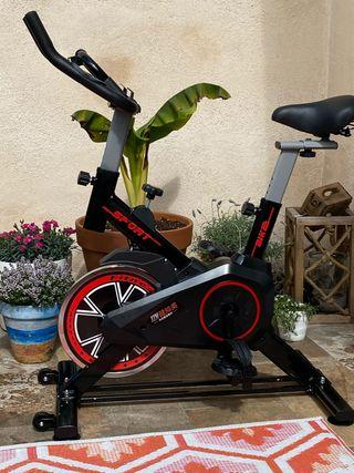 Bicicleta estática ciclo spinning indoor