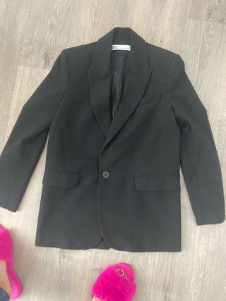 Blazer masculina Zara NEGRA - XS