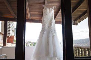 se vende bello vestido de novia importado