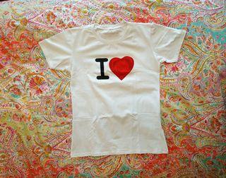 Camiseta blanca manga corta de algodón Victor&Rolf
