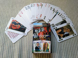 James Bond. Baraja de Poker
