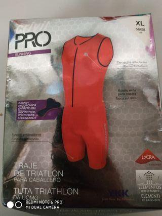 traje triatlon XL