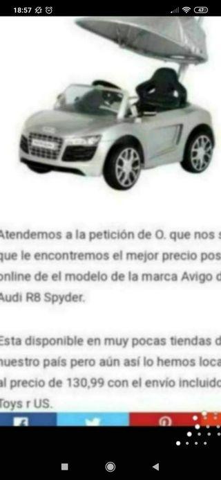 coche de niño Audi R8