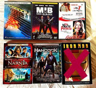 PELÍCULAS DVD EDICIONES ESPECIALES (COMO NUEVAS)
