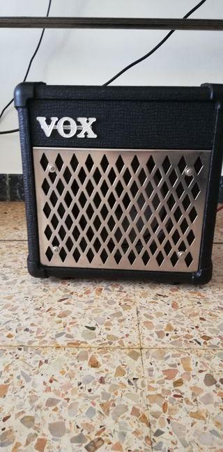 amplificador guitarra vox 5 wattios