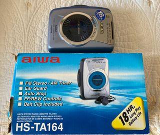 Walkman Aiwa TA174 Stereo Radio Cassette Player