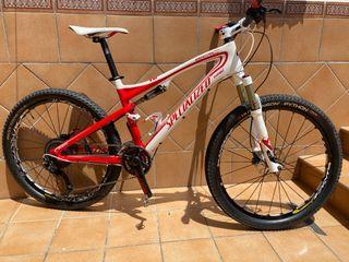 "Bici Specialized Epic Exp Carbon 2011 Talla M 26"""