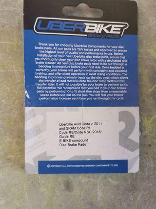 Pastillas de freno Sram Code Guide e-bike