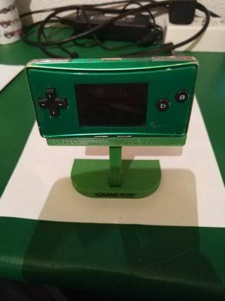 Soporte para Game Boy Micro