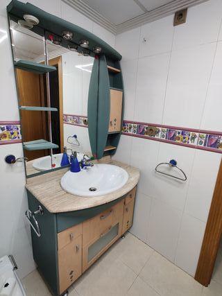Conjunto muebles de baño