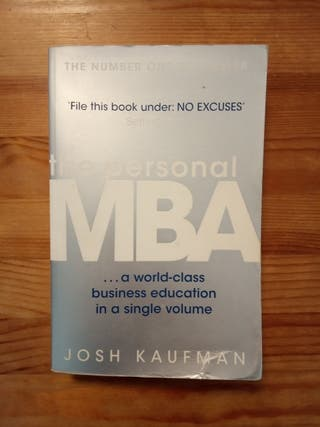 The Personal MBA, de Josh Kaufman