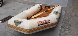 barca neumatica Narwhal de 2,80m