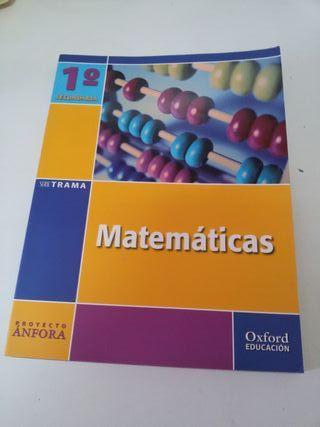 libro texto Matemáticas Oxford ESO