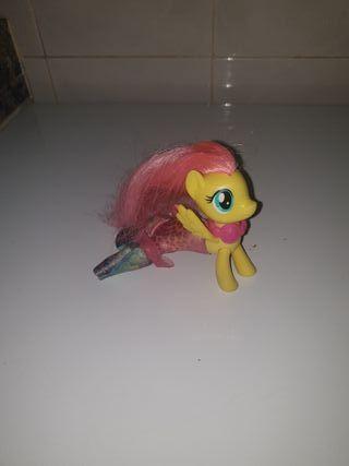 my little pony sirena fluttershy