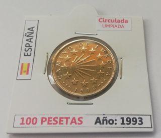 100 Pesetas (Año 1993)