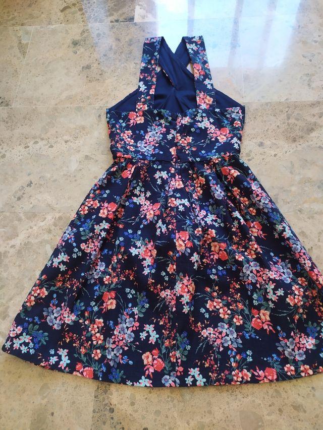 Vestido de verano, estampado floral