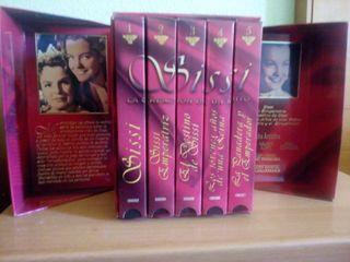 Sissi: La creación de un mito 5 cintas VHS
