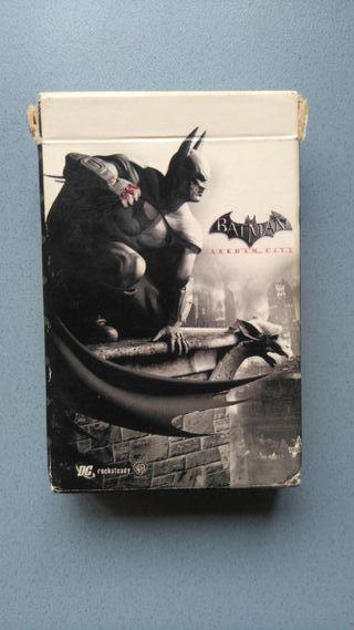 Baraja cartas Poker Batman Arkham City