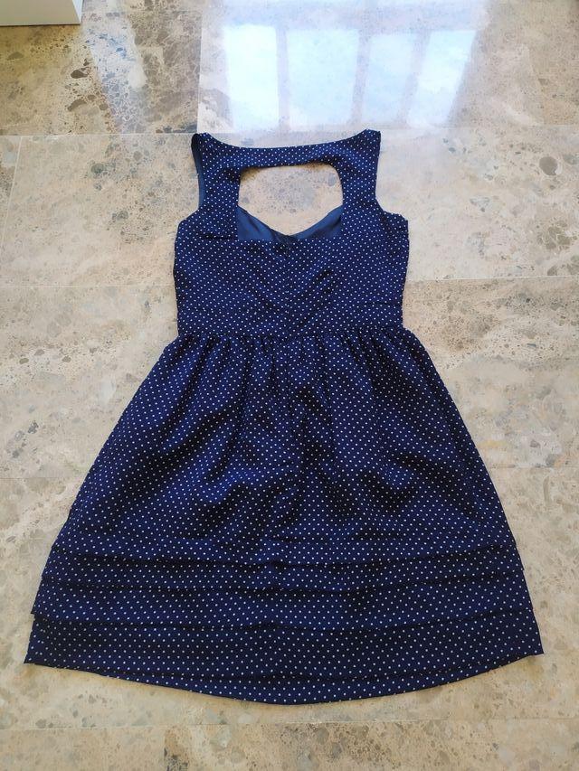 Vestido de verano con topitos