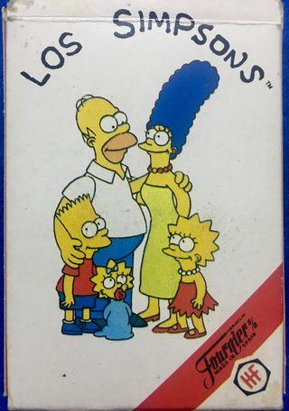 Cartas, Baraja, Los Simpsons Fournier