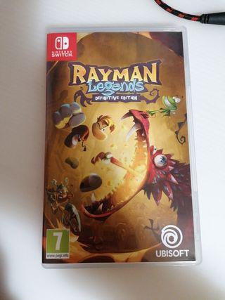 juego Rayman Nintendo switch