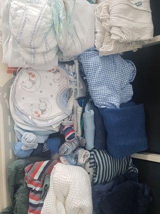 Lote de ropa bebé (niño)