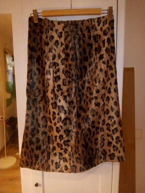 Falda Leopardo