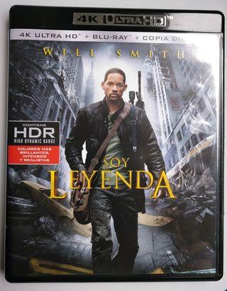 Soy leyenda. 4k Ultra HD + Blu-Ray