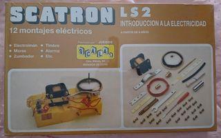 JUEGO SCATRON LS2 RF 223 SCALA MONTAJES ELECTRICOS