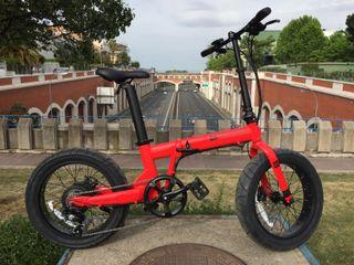 Bicicleta Eléctrica PLEGABLE regalo SEGURO y CASCO