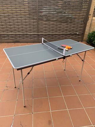 Mini mesa Ping Pong Decathlon