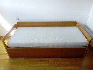 cama nido de 80 x 190
