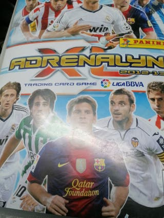 album de cromos de fútbol