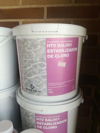 Estabilizador de cloro para clorador salino